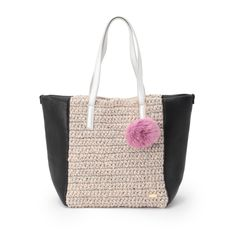 Laugoa crochet tote bag