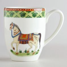 One of my favorite discoveries at WorldMarket.com: Voyage Horse Mug