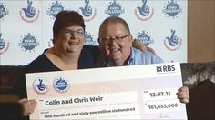 A couple who won the biggest-ever EuroMillions jackpot a year ago pledge to continue sharing their good luck.