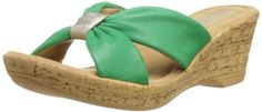Bella Vita Made in Italy Women's Perfetto Wedge Sandal,Jade Leather,6 M US Bella Vita http://www.amazon.com/dp/B00EL48CWE/ref=cm_sw_r_pi_dp_8FIcub0NWEHDQ