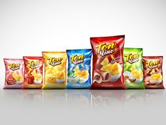 TOP CHIPS by BRAND PIT Design Agency, via Behance
