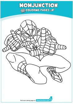 The Spiderman Ready Coloring Page Paper Doll House, Paper Dolls, Alter Ego, Coloring Sheets, Coloring Pages, Colouring, Spiderman Coloring, Crafts, Period