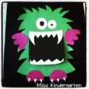Monster Madness Craft and Writing Templates product from MissKindergarten on TeachersNotebook.com