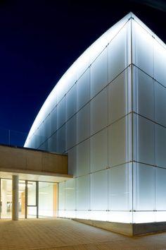 Alicante, Facade, Garage Doors, Spain, Outdoor Decor, Home Decor, Cultural Center, Cities, Photos