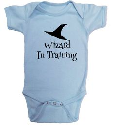 Wizard in Training, LOTR, Harry Potter Ringspun cotton Baby one piece tee, Nerdy baby, toddler tee https://presentbaby.com