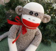 I made M and L a sock monkey for chirstmas.... who else wants one?