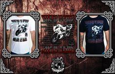 (Camiseta Addicted to Speed). Visite https://www.cavalariastore.com.br e conheça esta camiseta com a arte exclusive desenvolvida pela Cavalaria de Aço!