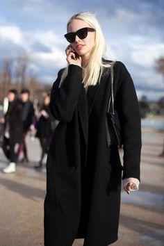 Sasha Luss off duty in Paris