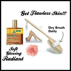 Dry Brush For Gorgeous Skin