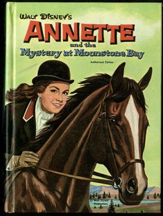 Walt Disney's Annette: Mystery at Moonstone Bay TV tie-in book 1962 (Annette Funicello)
