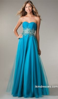 http://www.ikmdresses.com/2014-Sweetheart-Beaded-Waistline-Pleated-Bodice-A-Line-Prom-Dress-Sweep-Train-p84561