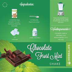 Shake F1 herbalife Chocolat mint
