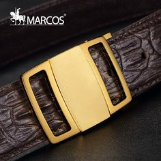 Find More Belts & Cummerbunds Information about Men Designer Belts High Quality Head Layer Cowhide Belt Buckle Marcos All match Smooth Business Casual Belts Crocodile,High Quality belt mobile phone holders,China crocodile knife Suppliers, Cheap belt chain for men from Designer eyewear store on Aliexpress.com