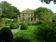 This is Tintinhull in Somerset, England, the garden that for many years was managed by English garden designer, Penelope Hobhouse.