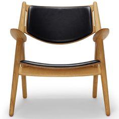 Hans Wegner: Wegner CH28 Sawhorse Chair - Danish Design Store