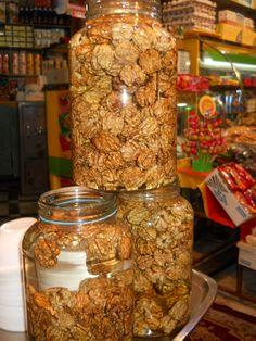 Fresh walnuts. Tajrish.