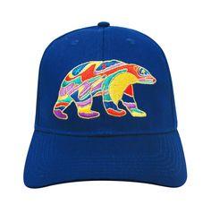 Dawn Oman Alpha Bear Embroidered Baseball Cap