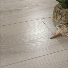 Patina Design Legno 7 x 48 x Oak Laminate Flooring in Kansas Ash Color: Kansas ash Best Laminate, Wood Laminate, Hardwood Floors, Click Lock Flooring, Armstrong Flooring, Mohawk Flooring, Floor Colors, Bedroom Flooring