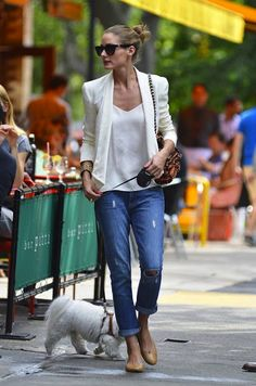 white blazer will be welcomed to my closet this spring
