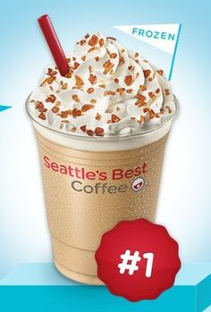 Coupon - Free Frozen Caramel Candy Latte at Seattle\'s Best Coffee