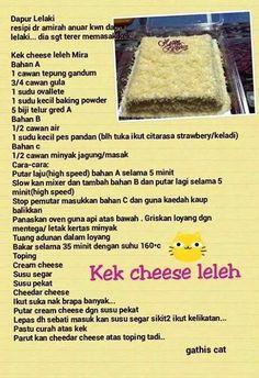 Kek cheese leleh