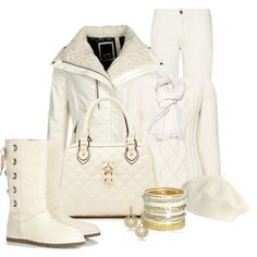 """""""Winter White"""" by happygirljlc on Polyvore"""