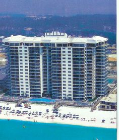 Watercrest is a beachfront high-rise with stunning views, a heated pool, a clubhouse, exercise rooms, and lighted tennis courts.