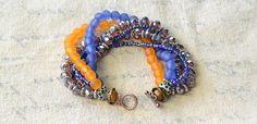 How to Make a Multiple Stranded Tibetan Style Beaded Bracelet for Summer