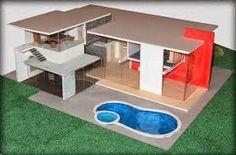 Los arquitectos y desarrolladores, a menudo utilizan maquetas de casas en su trabajo, puesto que les sirve para observar como será el final de su trabajo.