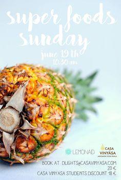 Super foods sunday brunch | Joana Monteiro Limão e Casa Vinyasa, com produtos Maria Granel | 19-06-2016