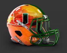 Miami Hurricanes Helmet 2014 Miamiorangechrome zps5a583b93