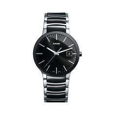Shop for Rado Men's 'Centrix' Two-Tone Stainless Steel Watch. Get free delivery On EVERYTHING* Overstock - Your Online Watches Store! Stainless Steel Watch, Stainless Steel Bracelet, Mens Designer Watches, Rado, Online Watch Store, Watch Brands, Bracelet Watch, Watches For Men, Quartz