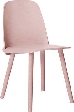 Chaise Nerd / Bois Rose   Muuto   Décoration Et Mobilier Design Avec Made  In Design
