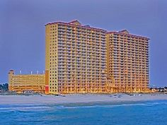 3-Bed Beachfront Luxury Condo at Calypso! Next to Pier Park. panama city