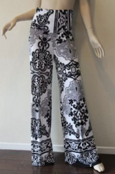 Exotic Wide Legged Boho Womens Palazzo Pants Medium #Unbranded #CasualPants
