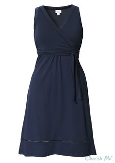 Boob Juno Maternity & Nursing Dress - Navy