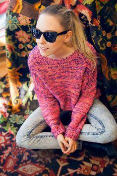 Indiedays goes DIY: Cateye Sunglasses Diy Fashion, Cat Eye Sunglasses, Pullover, Sweaters, Sweater, Sweatshirts, Pullover Sweaters, Shirts