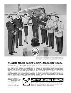 1964 South African Airways ad