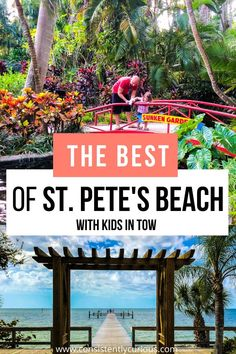 The Top Things To in St. Pete's Beach with kids. Including day trips! #stpetesbeach #stpetersburgfl #floridavacation #stpetes #familybeachvacation Florida Vacation, Florida Travel, Best Vacations, Vacation Destinations, Group Travel, Family Travel, Travel Ideas, Travel Tips, Family Adventure