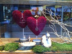 Valentines Day display 2013 with sterling jewelry and watch