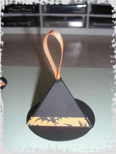 Witch Hat  made with circle die