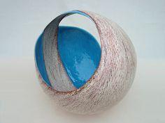 "Tanoue Shinya: KARA 09: Kan, 2009, Glazed clay, 22"" x 22 3/4"" x 22"" (h) / Keiko Gallery - Japanese artists"