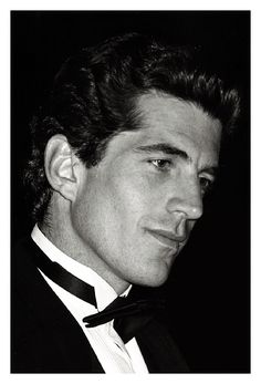 John Kennedy Jr.  The best looking man probably in the world.  (one of the best).