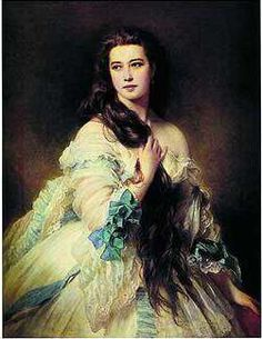 Empress elisabeth of the Holy Roman empire. She was admired for her good looks, and was assassinated in the 1880s