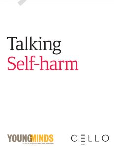 Packet of great information regarding self-injury of youth.  Writers include approaches for opening the dialogue about self-harm with school staff, parents, and the students themselves.  Could be useful in creating school policies and procedures for dealing with students who self-harm.