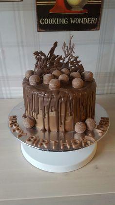 Vienesse Truffle Chocolate Drip Cake