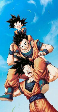 #Goku HD wallpaper art for iPhone 11pro. #Gohan HD wallpaper. #Dragon Ball Ż HD wallpaper art.