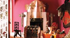Fashion Designer Liz Bruce's Exotic Moroccan Home - ELLE DECOR