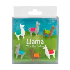 Shop for gifts online. Buy the latest on-trend furniture, homeware and giftware online and have your order delivered to your door!, wine glass markers - llama