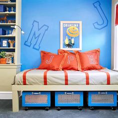 Cute Decorating ideas for boys rooms